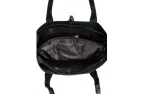 Сумка  ALEX RAI 10-03 J002 женская кожаная черная