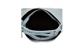 Сумка  ALEX RAI 03-1 8641 женская кожаная голубая