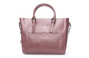 Сумка ALEX RAI 08-1 8223-64 женская кожаная розовая