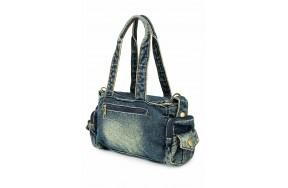 Женская сумка Fantasy Accessories мини FA-001 джинсовая