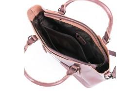 Сумка ALEX RAI 08-1 8222-64 женская кожаная розовая