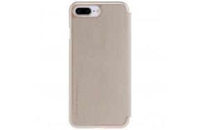 Чехол-книжка Nillkin Sparkle case iPhone 7 Plus Gold