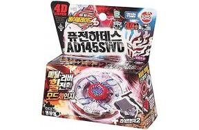 Волчек Beyblade AD145SWD Fusion Hades с пусковым устройством
