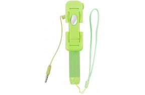 Монопод TOTO TMK-05 mini AUX cable Green