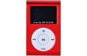 Плеер TOTO TPS-02 With display&Earphone Mp3 Red