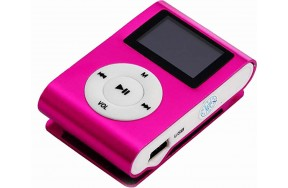 Плеер TOTO TPS-02 With display&Earphone Mp3 Pink