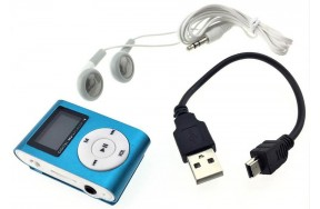 Плеер TOTO TPS-02 With display&Earphone Mp3 Blue