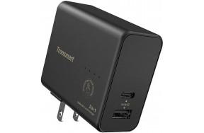 Портативная батарея Tronsmart WPB01 2 in 1 Portable Travel Charger With 5000mAh Power Bank Black
