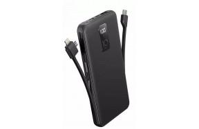 Портативная батарея AWEI P41K 10000mAh Universal Power Bank Black