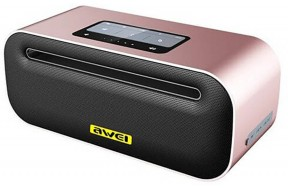 Портативная акустика AWEI Y600 Bluetooth Speaker Rose Gold