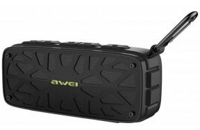 Портативная акустика AWEI Y330 Bluetooth Speaker Black