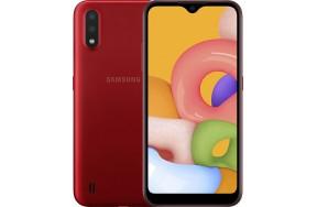 Смартфон Samsung Galaxy A01 A015F 2/16GB Red ***