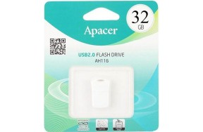 USB Flash Apacer AH116 32GB White