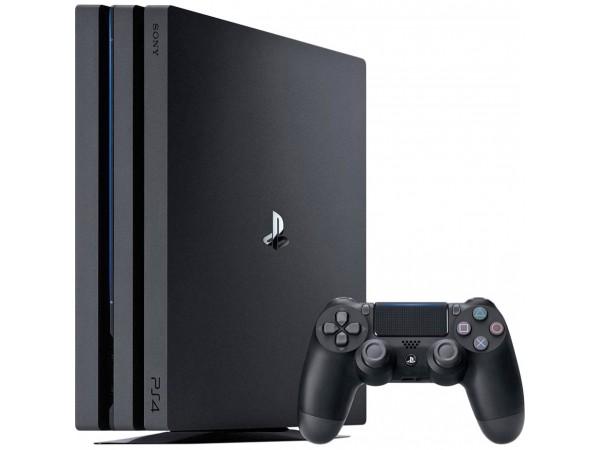 Игровая приставка Sony PlayStation 4 Pro (PS4 Pro) 1TB Black в Киеве. Недорого Игровые приставки