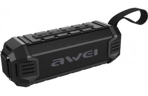 Портативная акустика AWEI Y280 Bluetooth Speaker-Power Bank Black