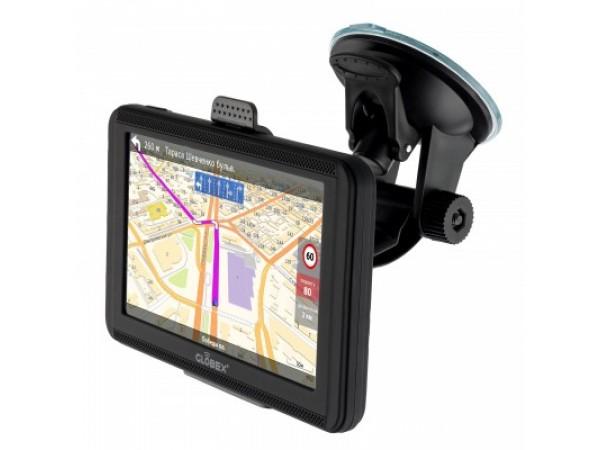 GPS навигатор Globex GE520 (Без карт) в Киеве. Недорого GPS-навигаторы