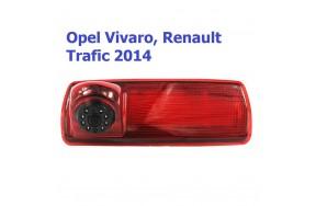 Камера заднего вида Baxster BHQC-907 Renault Traffic III, Opel Vivaro II