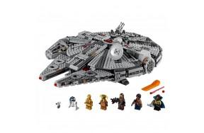 Блочный конструктор LEGO Star Wars Сокол Тысячелетия (75257)