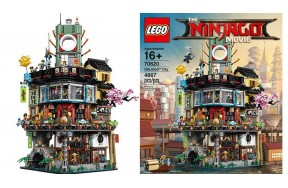 Классический конструктор LEGO NINJAGO Movie Ниндзяго Сити (70620)