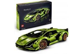 Блочный конструктор LEGO Technic Lamborghini Sian FKP 37 (42115)