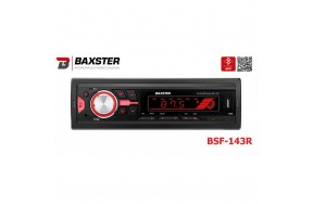 Автомагнитола BAXSTER BSF-143 red