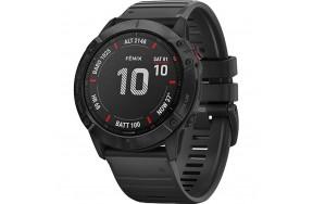 Смарт-часы Garmin Fenix 6X Pro Black with Black Band (010-02157-00)