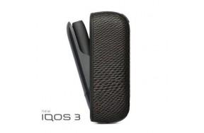 Чехол для IQOS Qlink Чехол для IQOS 3.0 / имитация змеиной кожи, Черный (2192108)