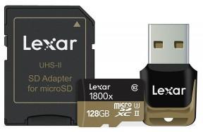 Lexar microSDXC 1800x 128GB UHS-II (LSDMI128CRBNA1800R)