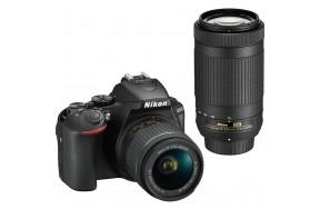 Зеркальный фотоаппарат Nikon D5600 kit (18-55mm+70-300mm) VR