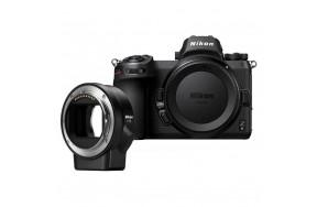 Беззеркальный фотоаппарат Nikon Z6 Body + FTZ Mount Adapter