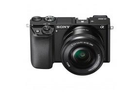 Беззеркальный фотоаппарат Sony Alpha A6000 kit(16-50mm + 55-210mm) Black