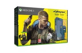 Игровая приставка Microsoft Xbox One X 1TB Cyberpunk 2077 Limited Edition