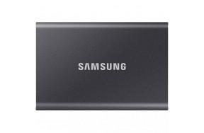 SSD накопитель Samsung T7 2 TB Titan Gray (MU-PC2T0T/WW)