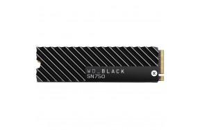 SSD накопитель WD Black SN750 NVME SSD 1 TB With Heatsink (WDS100T3XHC)
