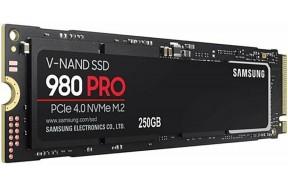 SSD накопитель Samsung 980 PRO 250 GB (MZ-V8P250BW)