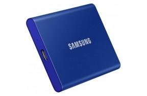 SSD накопитель Samsung T7 2 TB Indigo Blue (MU-PC2T0H/WW)