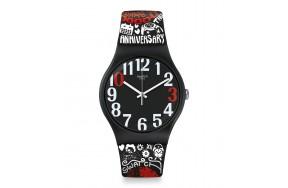 Наручные часы Swatch 30 AND TICKING SUOZ322